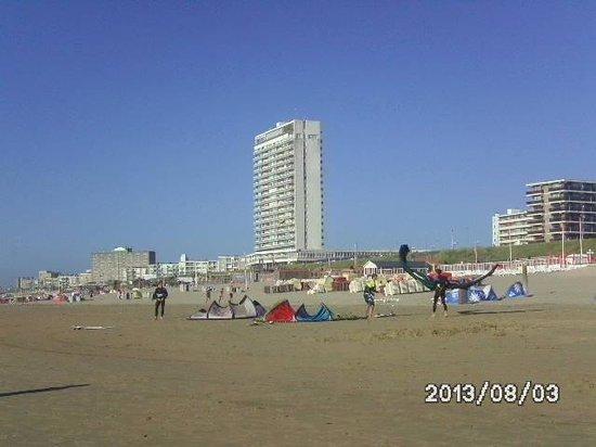 Hotel Anna: zandvoort der strand