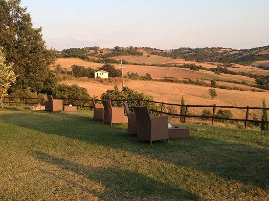 Quercia Rossa Farmhouse : panorama