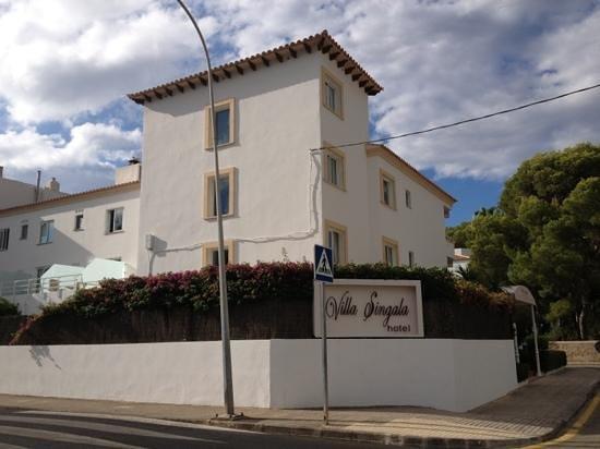 Hotel Villa Singala: villa singala