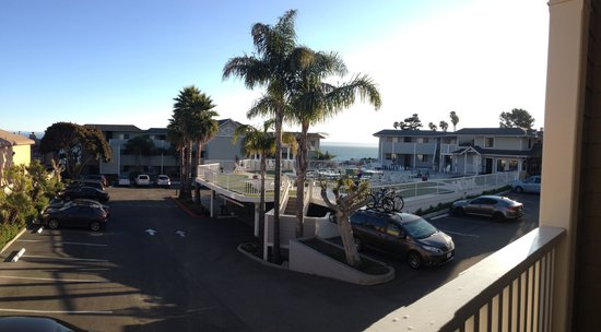 Pismo Lighthouse Suites : View from our balcony
