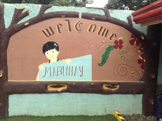 Citadel Bed and Breakfast : Mabuhay means 'welcome'