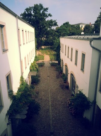 Hofgarten 1824: Blick in den Hinterhof