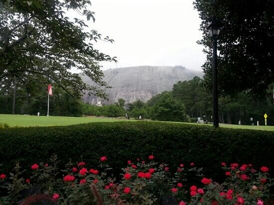Stone Mountain Inn: this was the view from the resturant