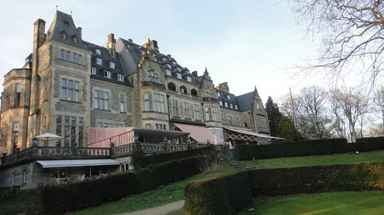 Schlosshotel Kronberg: from the back