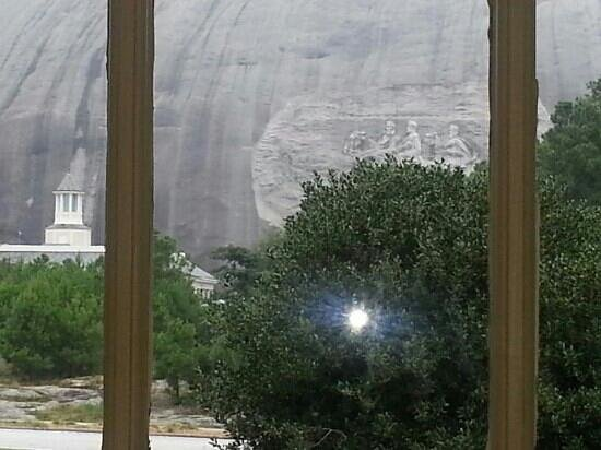 Stone Mountain Inn: the view from the window of the resturant