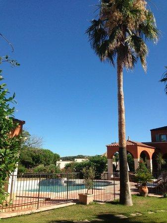 Palmyra Golf Hotel : Espace Piscine