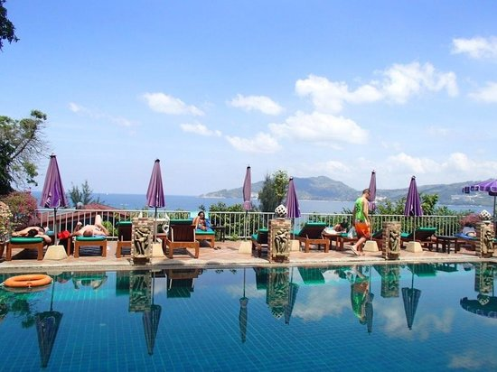 Tri Trang Beach Resort: Pool