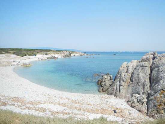 Cabras, Itália: una delle Cale dell'Isola