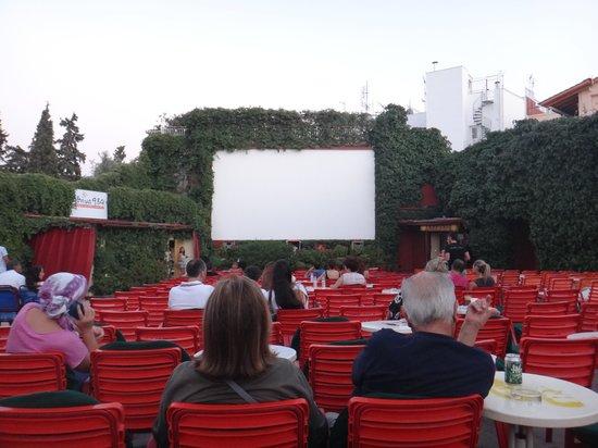 Open Air Cinema THISION: Cinema Garden