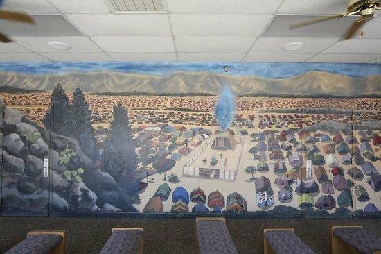Mennonite Information Center : The tabernacle during the trek through the desert