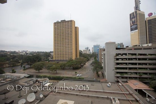 InterContinental Nairobi: View from the room