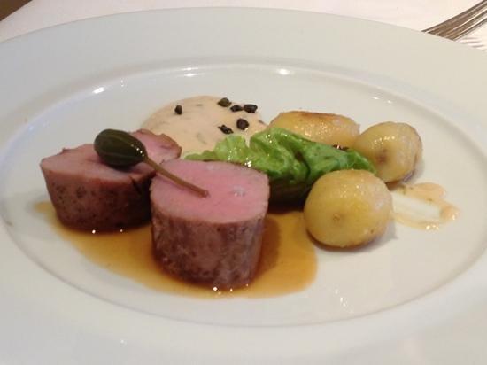 La Marine: filet mignon de porc dans le menu à 40€