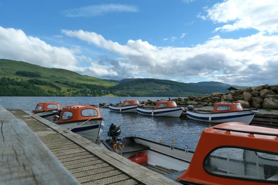 Loch Tay Highland Lodges : Boats