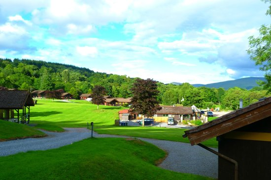 Loch Tay Highland Lodges : View