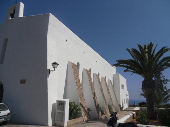 Iglesia de Es Cubells: chiesa2
