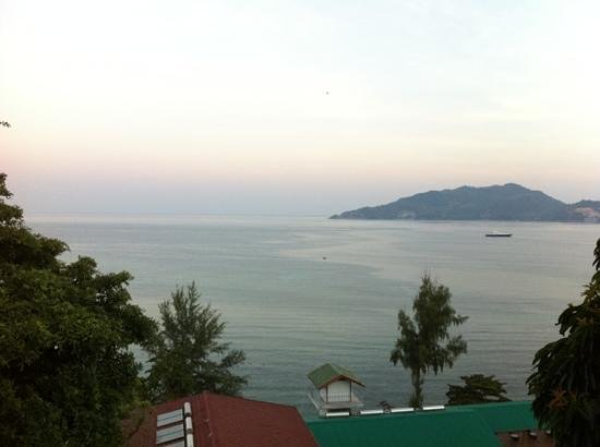 Tri Trang Beach Resort: view from room
