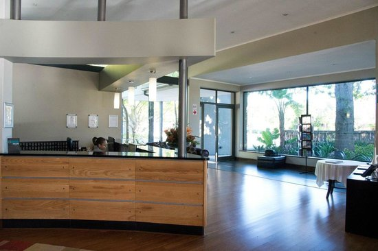 Premier Hotel Knysna – The Moorings: Hotel Reception