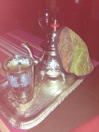 Restaurant la Medina : een authentieke munt thee als afsluiter