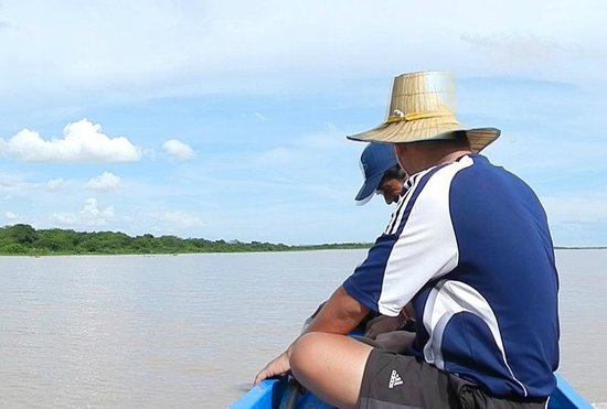 Unique Kayak Cambodia Day Tours: The guide. Join the tour and meet him in person! :)