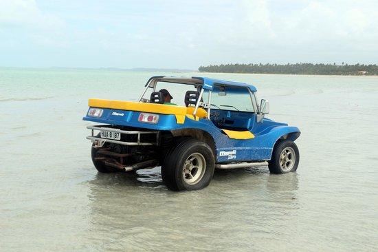 Xareu Beach: Fomos os últimos. Bug na água.