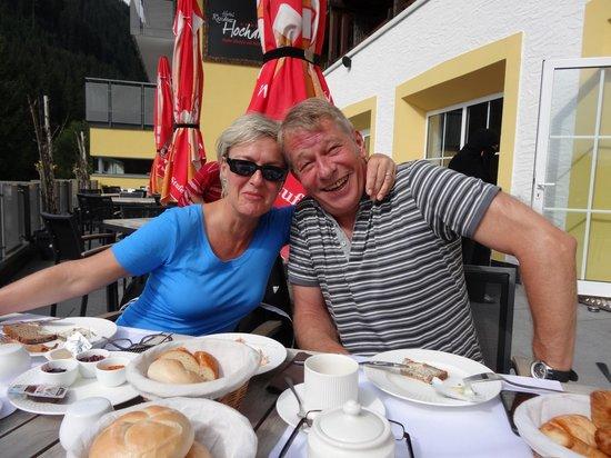 Hotel Residenz Hochalm: Frühstück in den Bergen