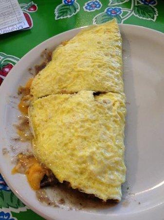 The Omelettry: Mushroom Omelette