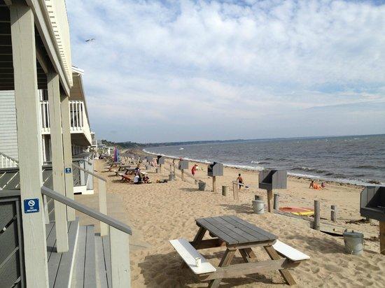 Top Mast Resort: Vue du balcon de la chambre