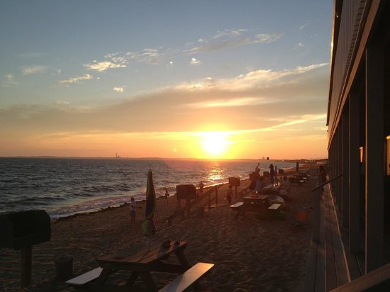 Top Mast Resort : Vue du balcon de la chambre