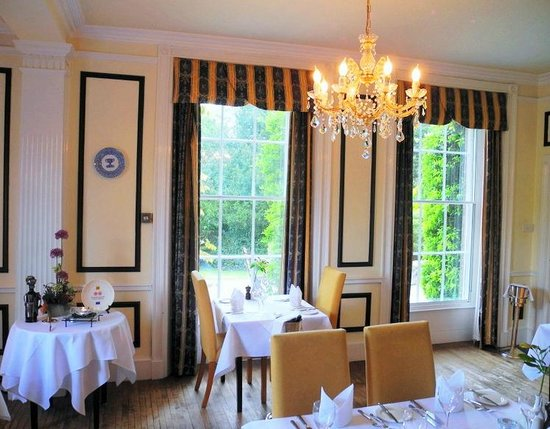 The Dining Room at The Old Rectory: The Garden View