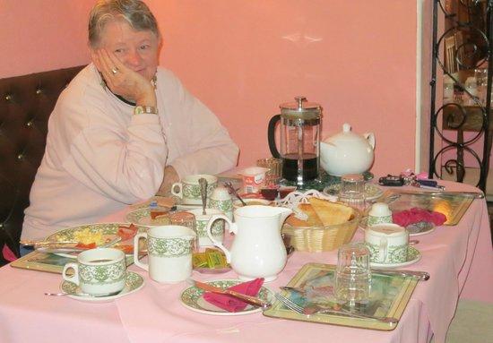 Freeport House Bed & Breakfast: Delicious Breakfast