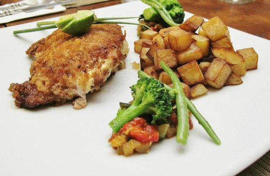 Le Winch: Cordon Bleu, sauteed potatoes