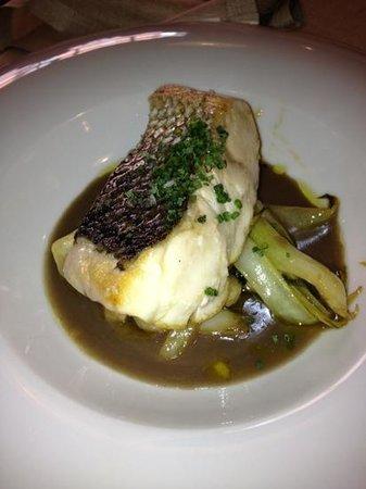 Restaurante Goya : lubina salvaje