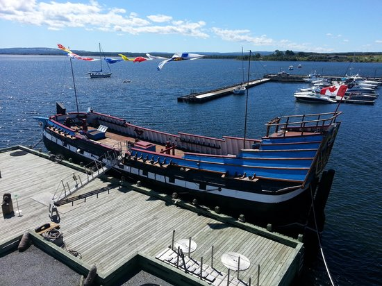 Hector Heritage Quay: Le bateau Hector