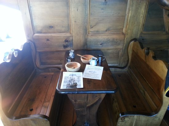Hector Heritage Quay: Vue de la cabine du capitaine