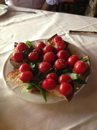 La Fontanina : bruschette