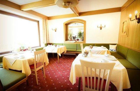 Hotel Garni Sonnblick: Frühstücksraum