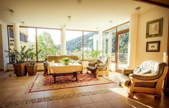 Hotel Garni Sonnblick: Wintergarten