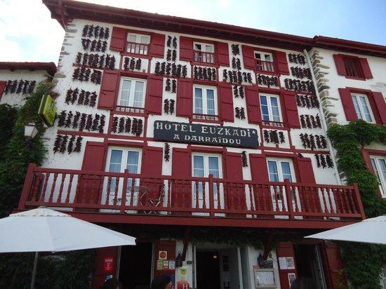 Hotel Euzkadi : hotel typique du pays basque
