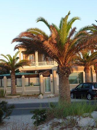 La Villa del Mare: view from the beach