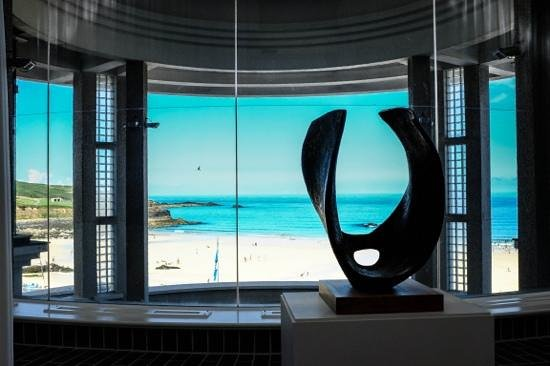 Tate Gallery St. Ives: the view from the gallery.