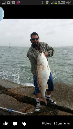 Days Inn Port Aransas TX: Biggest Catch of the Day