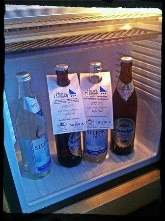 Hotel Herian : Complimentary mini-bar