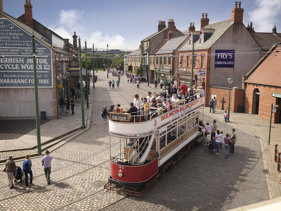 Бимиш, UK: The award winning Town at Beamish