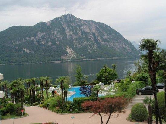 Hotel Lago Di Lugano: Blick vom Balkon