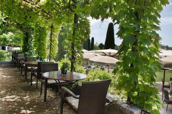 Hotel de Mougins : La terrace