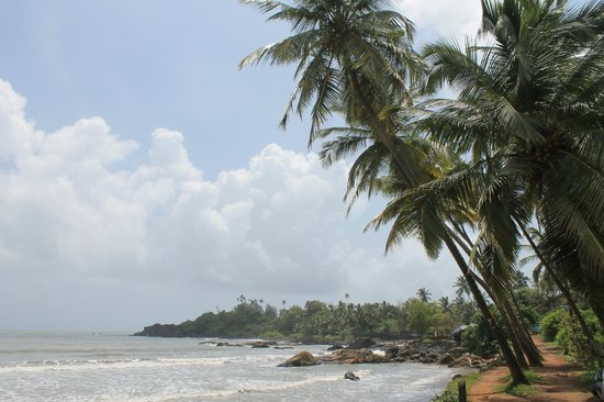 Bhakti Kutir: Patnem beach, 5 mins walk from Bahkti Kutir