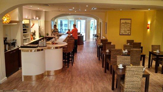 Hotel Glockengasse : Lobby and Breakfast room
