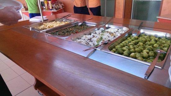 Hotel Longosa: Main courses