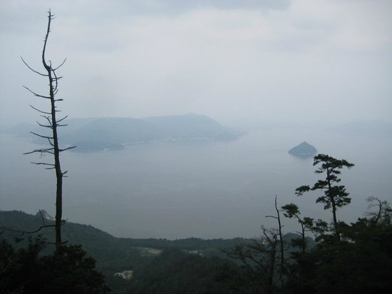 Miyajima: From the top of the mountain.