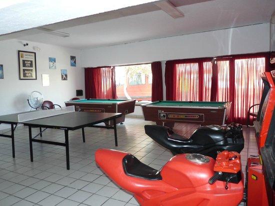 Hotel Nautilus : espace jeux